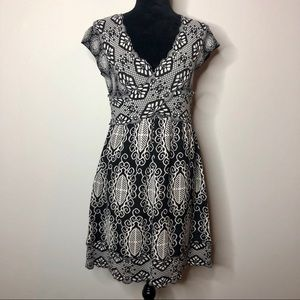 Anthropologie Knitted and Knotted Florry Dress